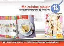 PUBLICITÉ POUR TÉLÉ 7 JOURS
